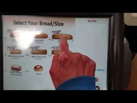 Placing a hoagie/sandwich order at Wawa Convenience Store