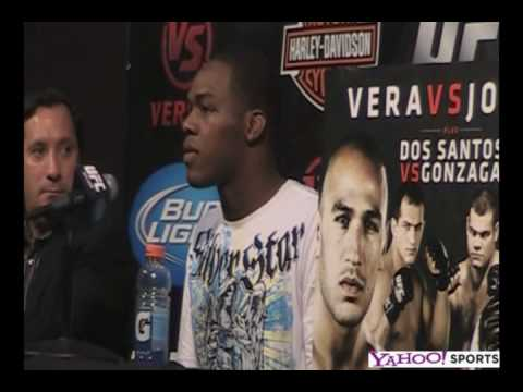 Jon Jones Post Fight Press Conference Talks fighting from the Core