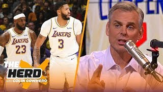Colin predicts NBA Western Conference standings, reacts to Kawhi being left off GM poll | THE HERD by Colin Cowherd