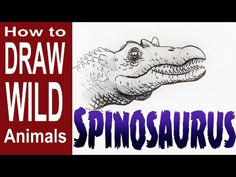 Spinosaurus vs t Rex Drawing How to Draw a Spinosaurus