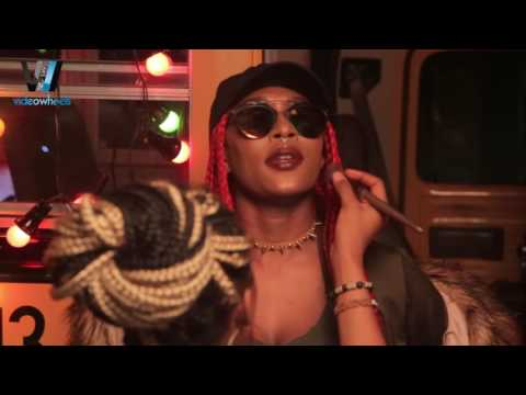 """BEHIND THE SCENES, CYNTHIA MORGAN FT STONEBWOY, """"BUBBLE BUP"""" (Nigerian Entertainment)"""