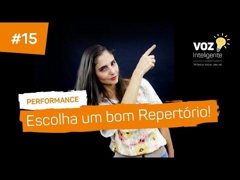 Frases inteligentes - ESCOLHA UM BOM REPERTÓRIO - Performance #15 com MICHELE BARSAND - VOZ INTELIGENTE, Aula de canto