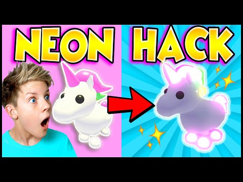HACK To Get FREE NEON PET in Adopt Me!? Can We Get These Adopt Me Tik Tok Hacks To Work? PREZLEY