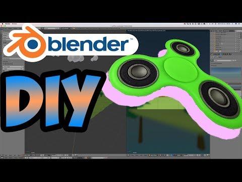 Я сделал 3D-СПИННЕР в Blender! DIY спиннер с моим гайдом!