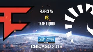 FaZe Clan vs Team Liquid - IEM Chicago 2018 - map3 - de_cache [MintGod & Smile]
