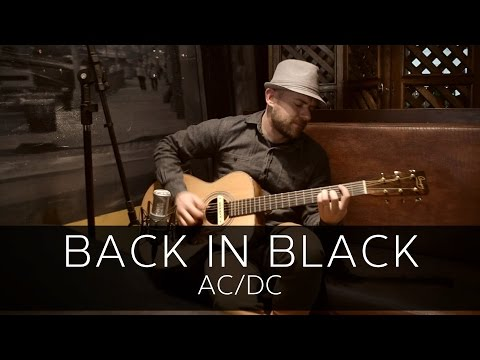 BACK IN BLACK (AC/DC) – Acoustic Guitar Solo Cover