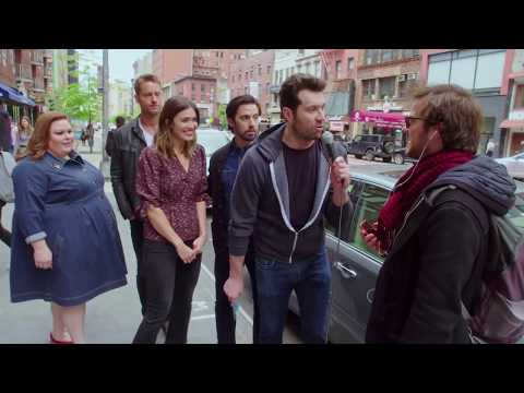 Billy Eichner Hits The Streets With The Cast Of This Is Us
