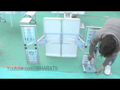 Picnic Folding Aluminium Table – Magic Table – Full Video With Installation
