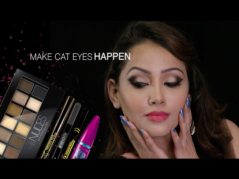 Learn Cat Eye Makeup with Professional Maybelline Artist | Cat Eyes Tutorial
