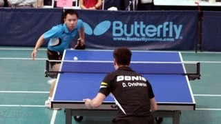 2012 L.A. Open Table Tennis Tournament(QF): Dimitrij Ovtcharov vs. Liang Yonghui