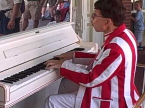 Disney Jim The Best Rag Time Piano player The Entertainer