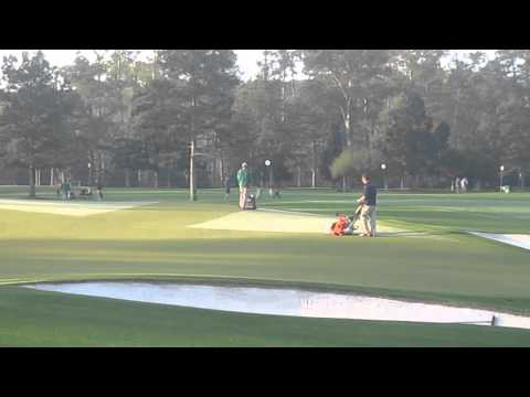How they mow the greens at Augusta National Golf Club The Masters 2013
