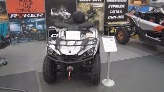 4. BRP Can-Am Outlander Max XT 570 T (2019) Exterior and Interior