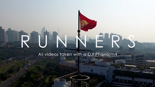 RUNNERS at Shenzhen - All videos taken with a DJI Phantom4