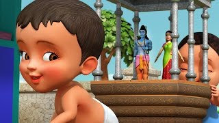 This Telugu Rhymes for Children, depicts one of the way children celebrate Ram Navami. Ram Navami is celebrated as the birthday of Lord Ram. Hope your little one enjoys this kids video.for more information : www.infobells.com