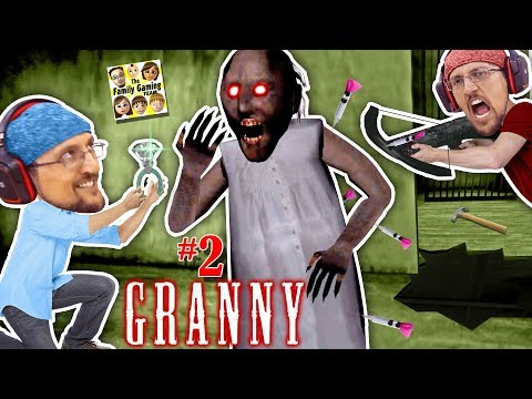 GRANNY, MARRY ME?  SHOOTING GRANNY TURNS HER GHOST! 5 Days Ending! (FGTEEV Barely Escapes House #2) (видео)