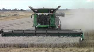 Video John Deere s690i combines harvesting.2015 MP3, 3GP, MP4, WEBM, AVI, FLV November 2017