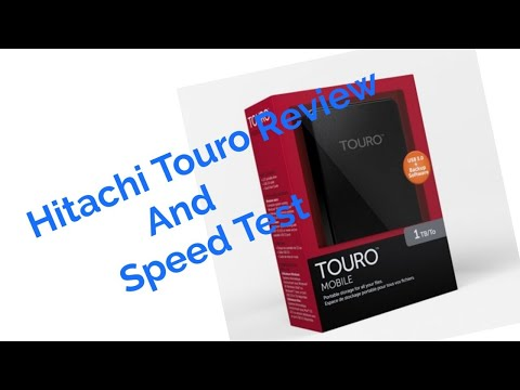 Hitachi (HGST) Touro Mobile MX3 1TB Full Review and speed test