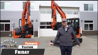 7. Kubota KX040 With 6 Way Blade  / Favorite Feature Friday Ep. 2