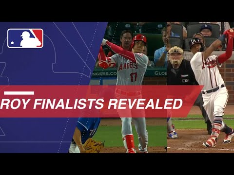 Video: MLB announces the 2018 Rookie of the Year finalists
