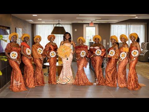 A Beautiful Ghanaian Traditional Marriage (STEPHEN & JENNIFER)