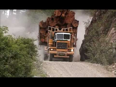 Big Trucks in the Canadian West -www.truckingFantastic.com