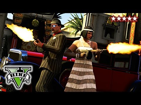 Valentine's - GTA 5 Valentine's Massacre Special - The Roosevelt Car, Robbing Banks, Killing Cops & Escaping GTA 5 - Grand Theft Auto 5 ▻HikePlays ...
