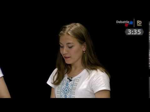 """Смарт-шоу """"Debattle""""! Вараш vs Володимирець [ВІДЕО]"""