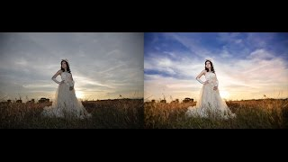 This tutorial will explain how to edit the sky more beautiful and dramatic , it is very easy to do , here I use Photoshop CC with camera RAW , blending color...