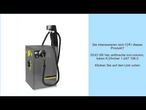 DUO SB Vac anthracite incl.column, token Kärcher 1.247 106.0
