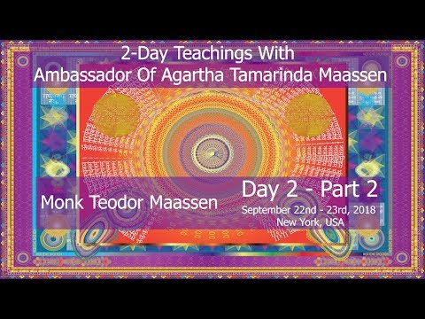 Introducing Monk Teodor Maassen - 2 Day Teachings With Ambassador Of Agartha - Day 2 Part 2 (RO Sub)