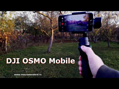 Stabilizator pentru telefon mobil DJI OSMO Mobile