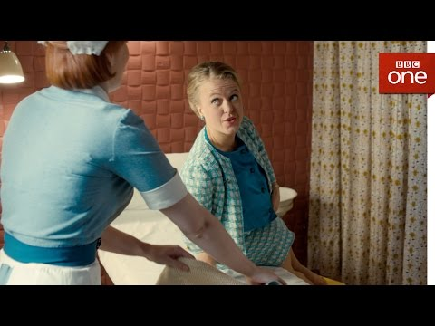 Patsy examines expectant mother Penny - Call the Midwife: Series 6 - Episode 2
