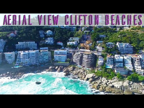 Clifton Beach, Cape Town, An Aerial View