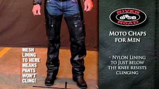 River Road Moto Chaps for Men