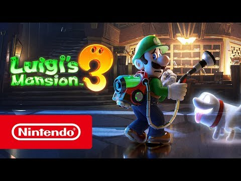 Trailer du Nintendo Direct de Luigi's Mansion 3