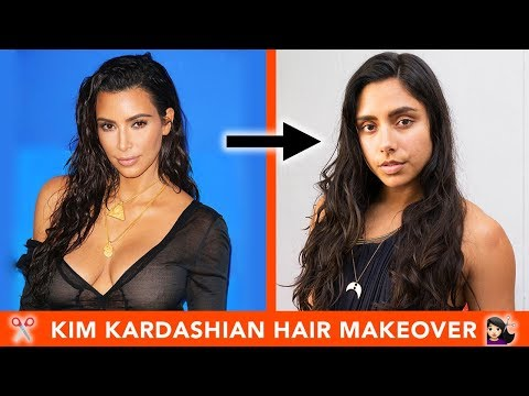 I Gave Myself A Kim Kardashian Hair Makeover