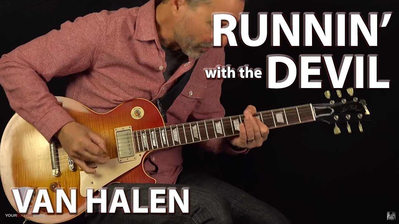 How to play Runnin' With the Devil – Guitar Lesson
