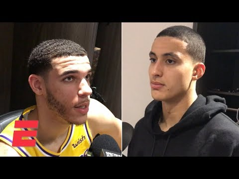 Video: Lonzo Ball, Kyle Kuzma and Brandon Ingram say there's 'no excuse' for collapse vs. Kings | NBA Sound