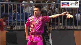 20 Ogos: Wushu - Jianshu Aksi pingat perak Wong Weng Son dalam acara Wushu kategori Jianshu. SUBSCRIBE YouTube Astro...