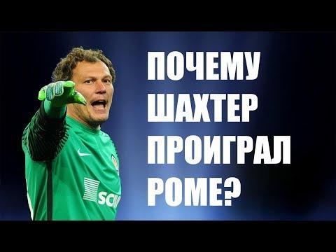 Рома - Шахтер - 1:0 - Лига чемпионов 2018 - Андрей Пятов после матча в Риме