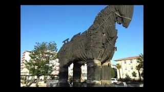 Canakkale Turkey  city photos : Trojan Horse [HD] at Çanakkale, Turkey
