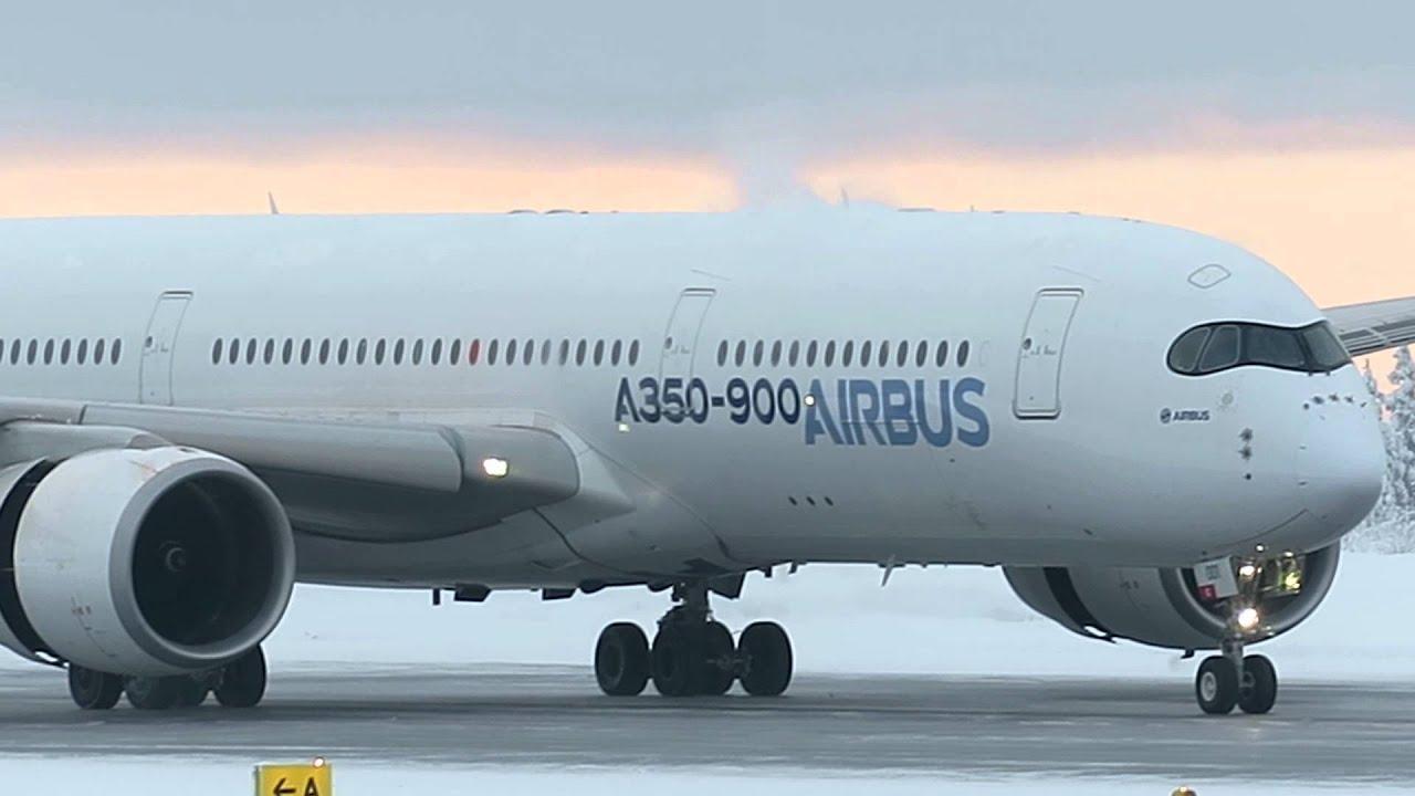 Airbus A350 p&auml;&auml;si vihdoin<br /> ilmaan Rovaniemell&auml;