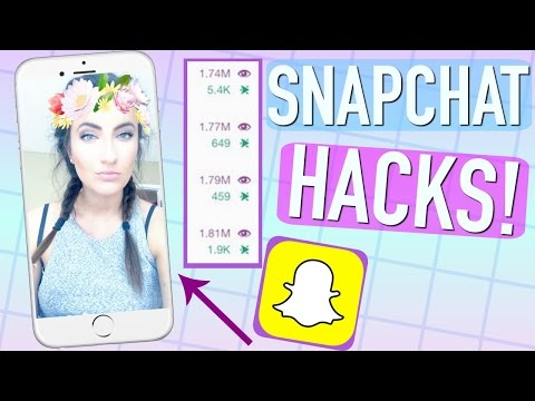 10 Snapchat Hacks That ACTUALLY Work!