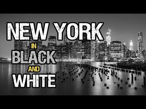 Manhattan New York in Black & White