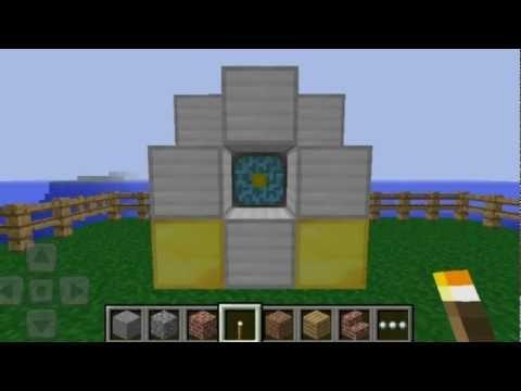 Minecraft pocket ediition: 0.5.0 update  (fr) (видео)