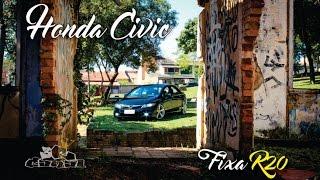 #Honda Civic #Fixa - R 20 - Interior Terracota - #3R Canal