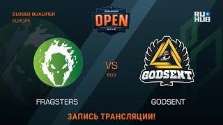Fragsters vs GODSENT, game 2
