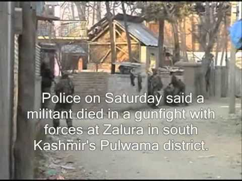 Gunfight rages in Pulwama