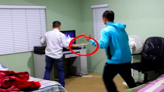 Video dad smashes son's brand new PS4!! (YOU WONT BELIEVE WHAT HAPPENS) MP3, 3GP, MP4, WEBM, AVI, FLV Maret 2019